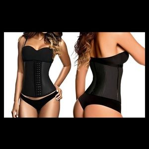 Black waist trainer